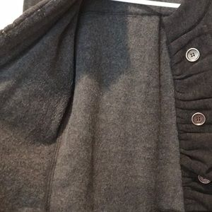 Jackets & Coats - Grey Jacket with front details.